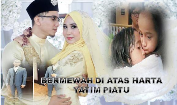 Biodata Penuh Faizz Nur Dan Gambar Majlis Pernikahan Mewah Beliau Selepas Kemalangan Duke