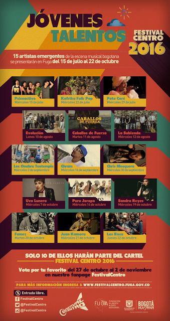 FESTIVAL DE JÓVENES TALENTOS 2015