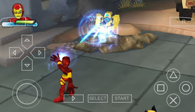 Download Marvel Super Hero Squad PPSSPP
