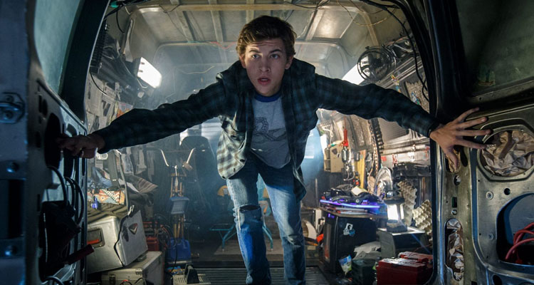 Escena de Ready Player One con el actor Tye Sheridan
