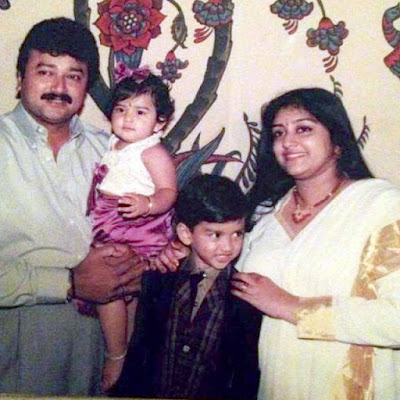 Malavika Jayaram and kalidas jayaram childhood