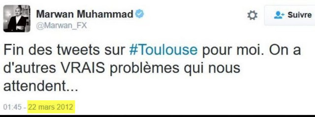 Réaction de Marwan Muhammad aux attentats de Toulouse