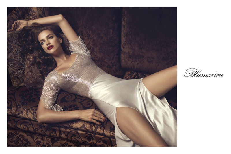 Campaign: Irina Shayk for Blumarine Fall/Winter 2017