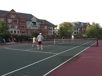 August is upon us and the Athertyn residents are heating up the tennis court with pickleball matches!