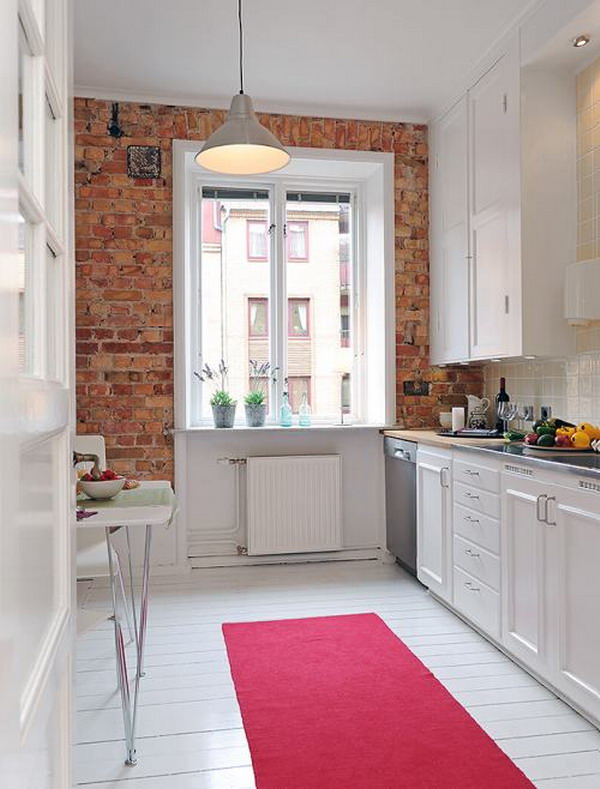 Modern White kitchen furniture 6