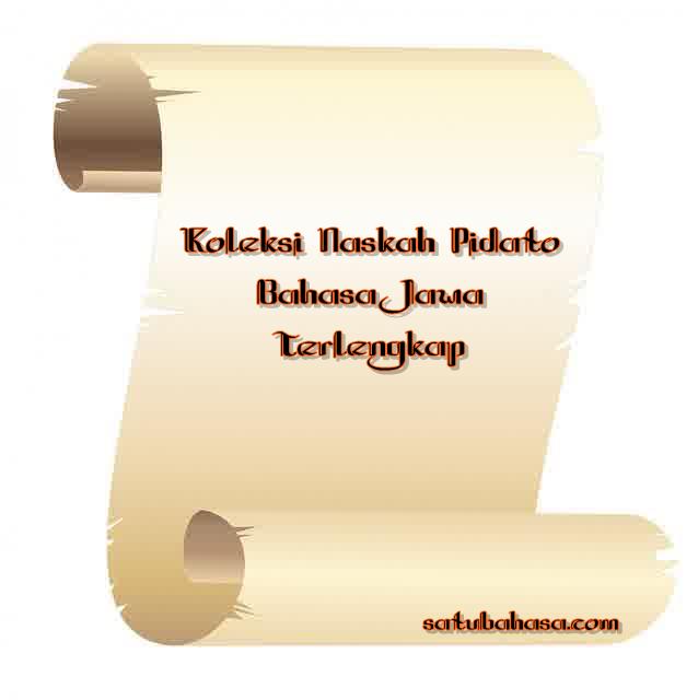 koleksi naskah pidato bahasa jawa terlengkap