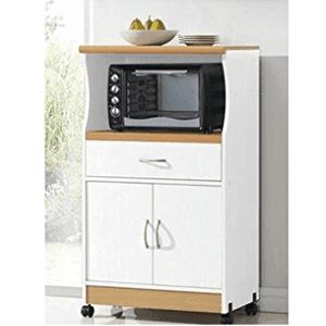 Hodedah Microwave Stand, Multiple Colors