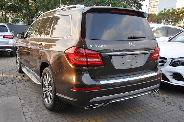 Mercedes GLS 400 4MATIC dẫn động 4 bánh toàn thời gian 4MATIC