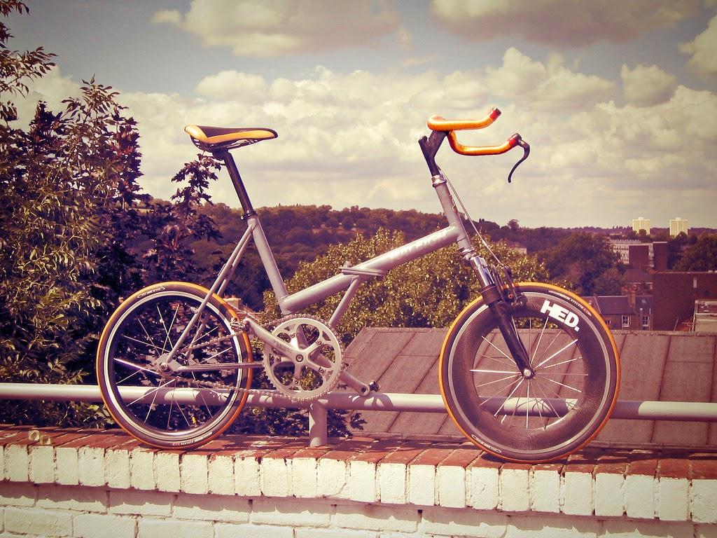 Bicicletta Pieghevole 20 Raleigh.Folding Style C 2012