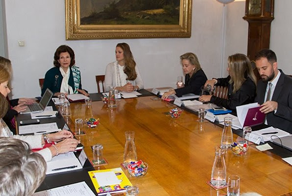 The International Council Meeting of World Childhood Foundation was held with the attendance of Queen Silvia of Sweden and Princess Madeleine of Sweden at Stockholm Royal Palace.