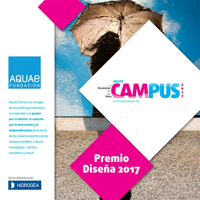 Convocatoria de cartel. III edición del Premio Diseña Aquae