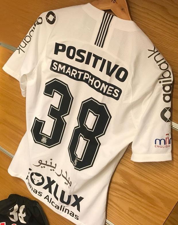 10e3413eef Corinthians estampa nomes em árabe na sua camisa - Show de Camisas