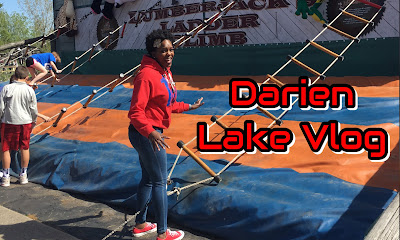 Darien Lake Them Park & Resort Vlog| PrettyPRChickTV #ad