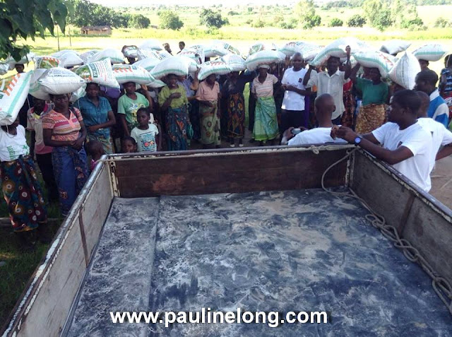 Pauline Long gives to Malawi