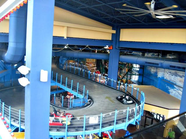indoor theme park go kart track
