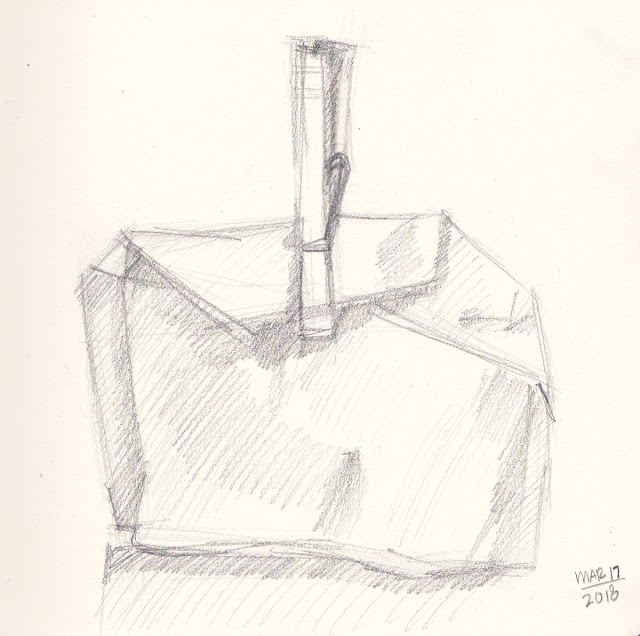 Daily Art 03-17-18 sketch of package