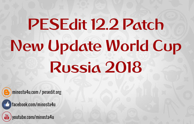 PESEdit 12.2 Update Winter 2018 Released 20/02/2018