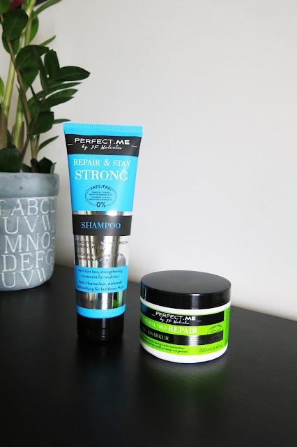 Perfect Me - szampon z serii Repair&Stay Strong  oraz maska Natural Oils Repair .