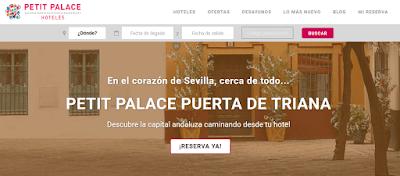 Petit Palace descuento hoteles Madrid y Sevilla