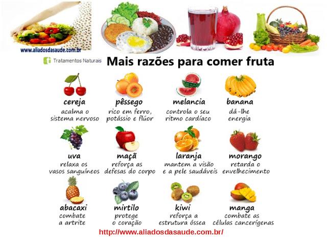 Frutas - Mais razões para comê-las