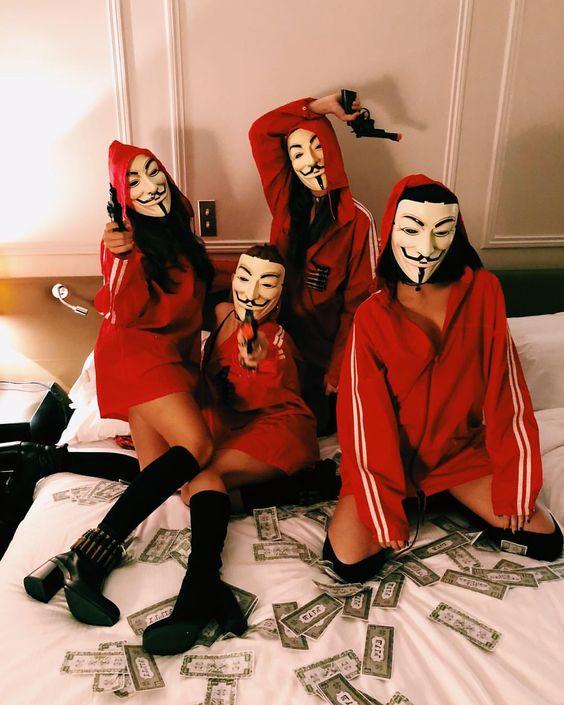 Máscara La Casa de Papel - Hobbies e coleções - Alípio de ...