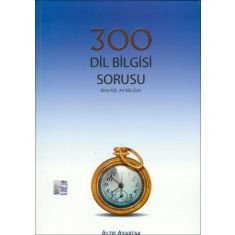 Altın Anahtar YGS 300 Dil Bilgisi Soru Bankası
