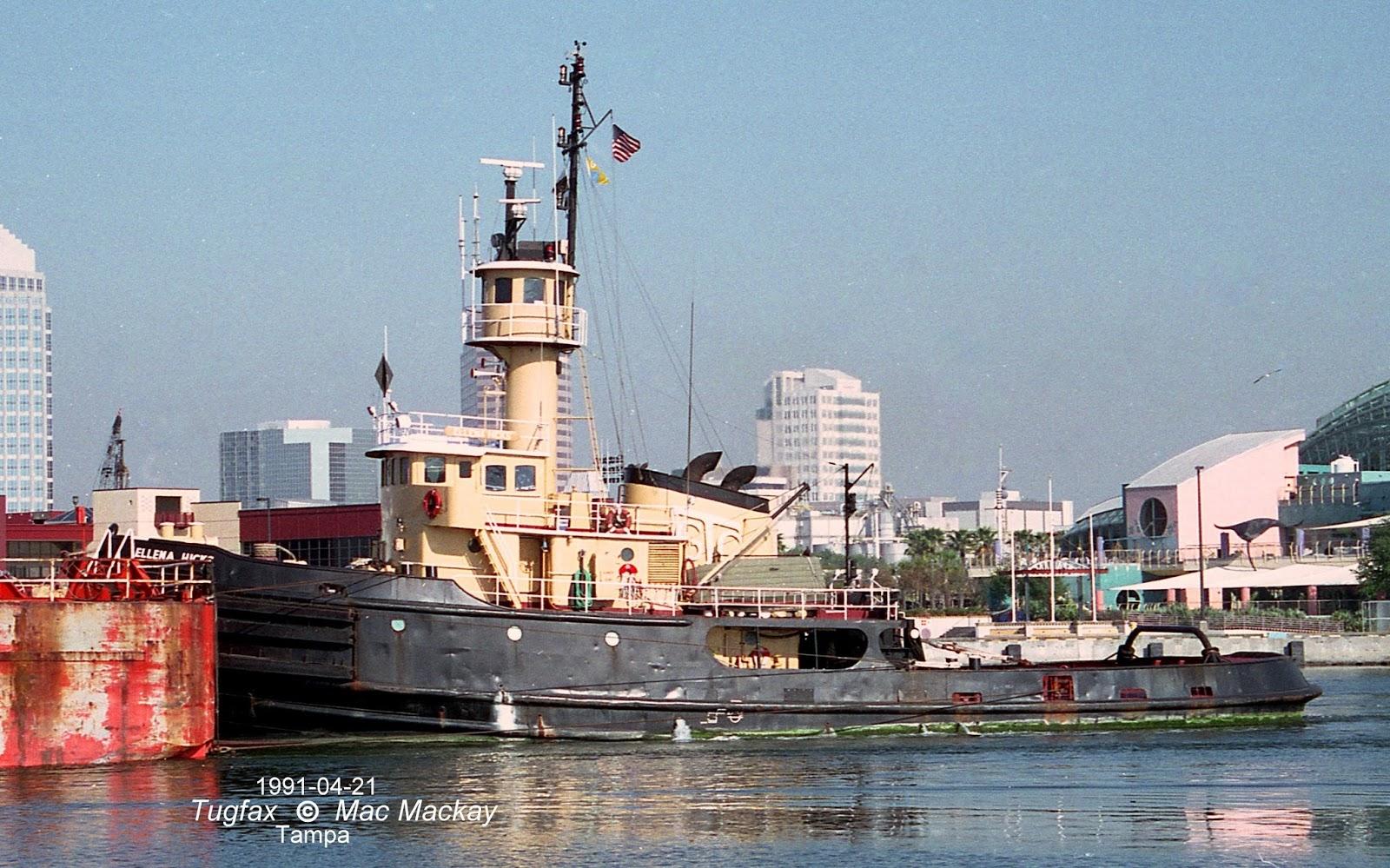 Tugfax: Pair of Tugs Passing Halifax