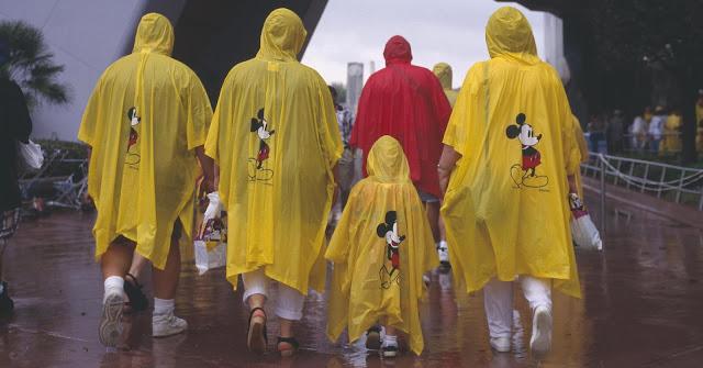 Capa de chuva da Disney em Orlando