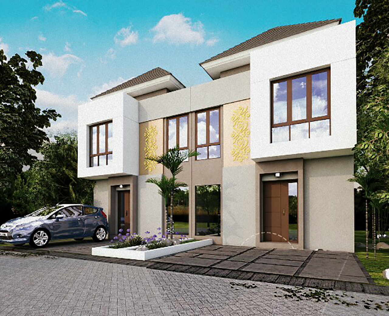 Ciomas Townhouse