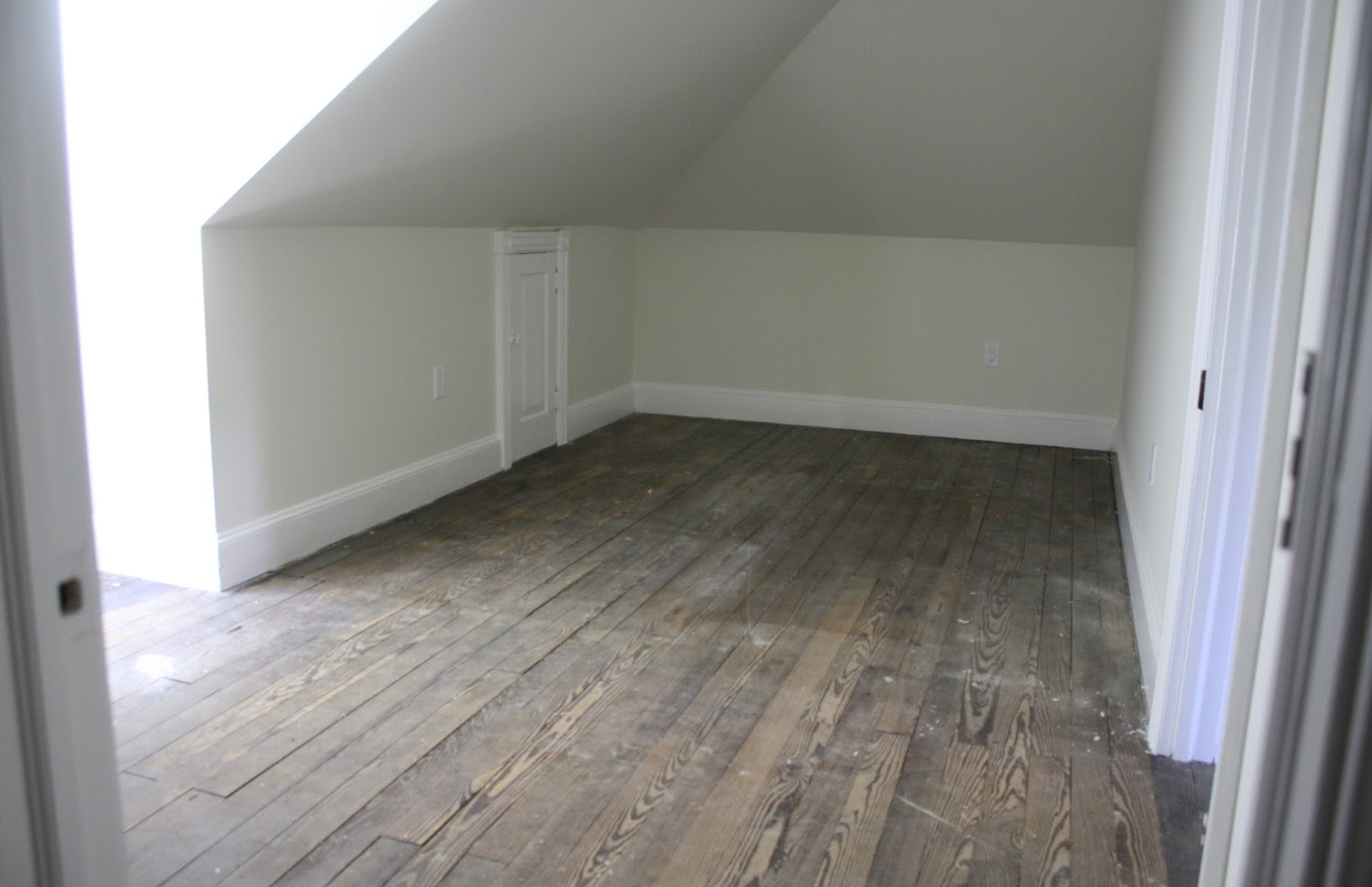 High street market 3rd floor refinished hardwood floor diy for Refinishing painted hardwood floors
