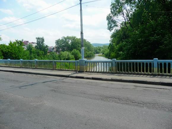 Болехів. Міст через річку Сукіль