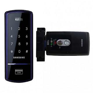 Khóa điện tử Samsung thông minh với nhiều tính năng tiện lợi