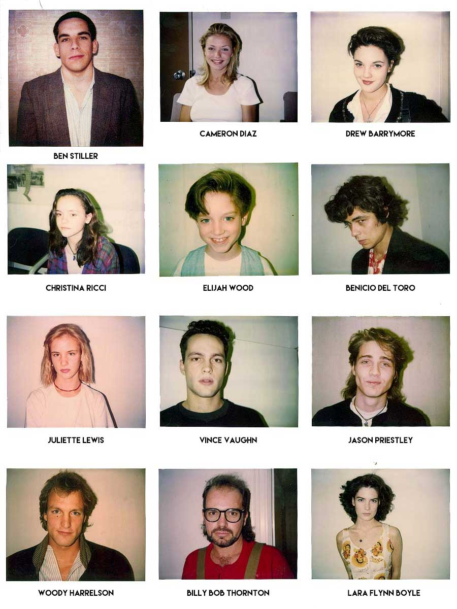 These S Audition Polaroids From Casting Director Mali Finn Show - Rare celebrity auditions famous