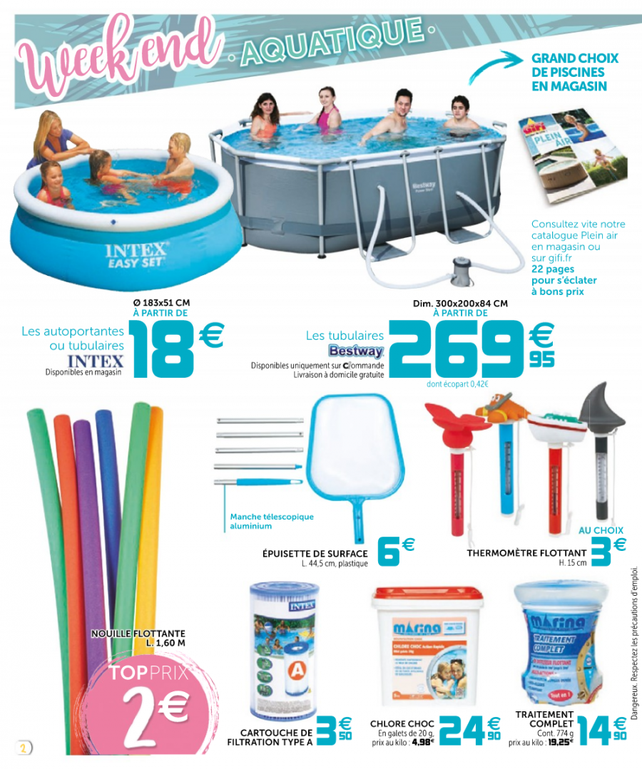 Catalogue gifi 02 au 10 mai 2017 catalogue promo for Catalogue piscine