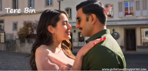 Tere Bin Guitar Chords with Lyrics  Simmba