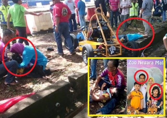 Tragedi Wartawan Dedah Detik Sayu Suami Dan Anak Ustazah Maut Dilanggar GoKart