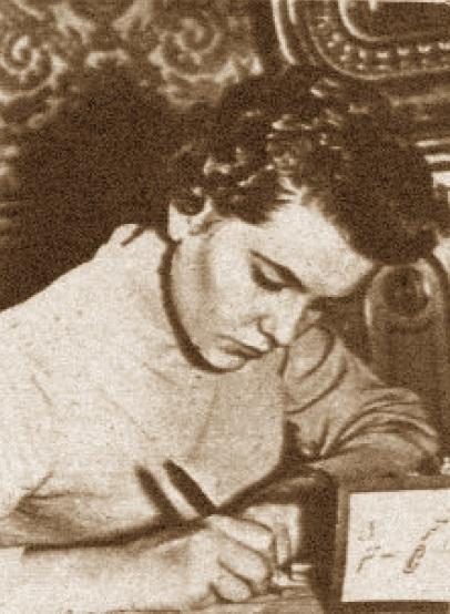 Pepita Ferrer Lucas, campeona del XVI Campeonato Femenino de Catalunya 1959