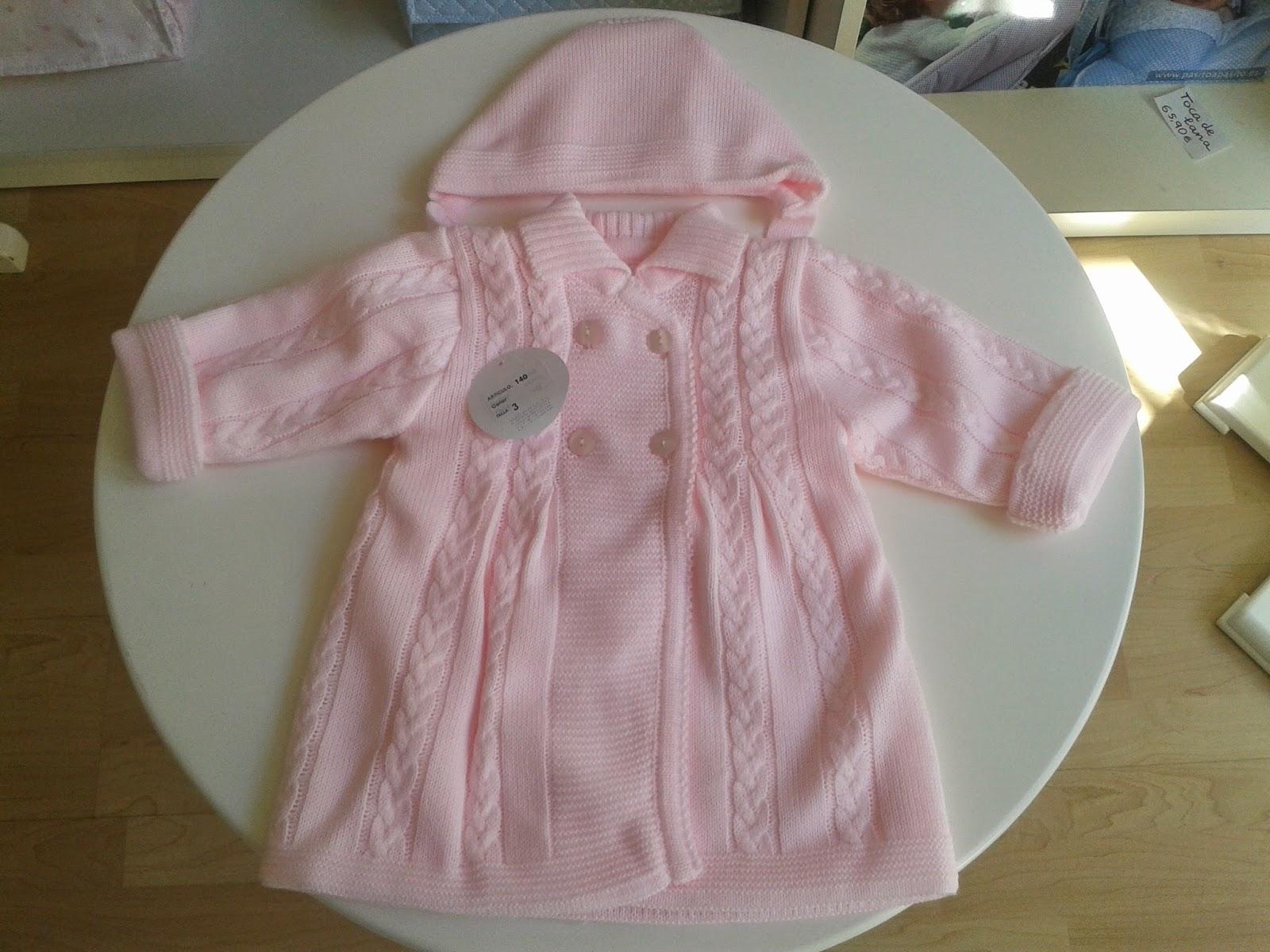 c2b1a74d5 Lazos Bebés  Abrigo bebé lana invierno. Canastilla bebé