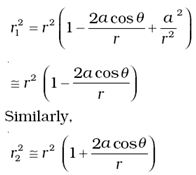 DMR'S PHYSICS NOTES: Potential Due To An Electric Dipole