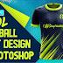 Cool Football Shirt Design In Photoshop CC 2019 By M Qasim Ali