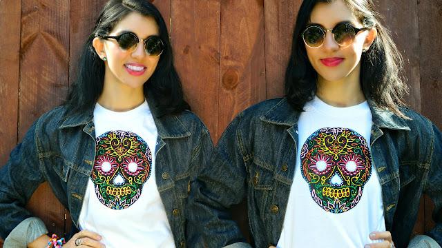 Mark Montano: Sugar Skull T-Shirt DIY