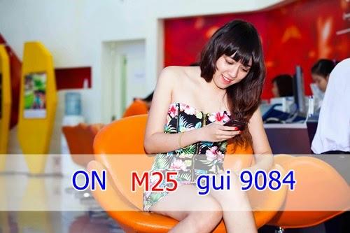 Đăng ký 3G gói M25 của Mobifone siêu rẻ