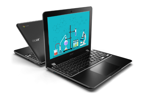 ACER debuts Chromebook Spin 512 (R851TN) and Chromebook 512 (C851C851T) for students