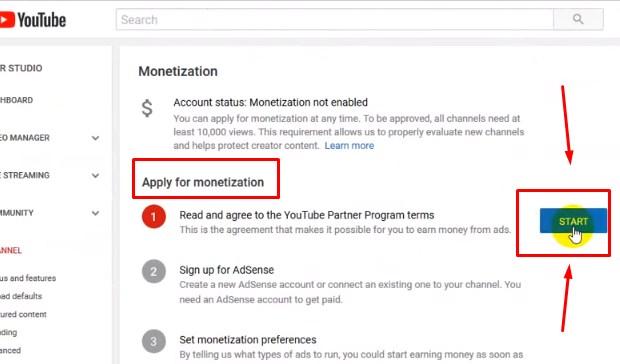 Dapat Uang Dari Youtube Via Monetisasi Channel YouTube 2019 ii