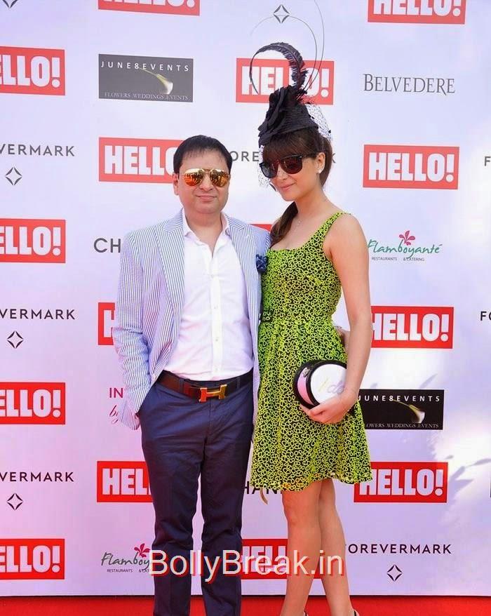 Yohan, Delna Poonawalla, The Hello! Classic Cup 2015 Photo Gallery