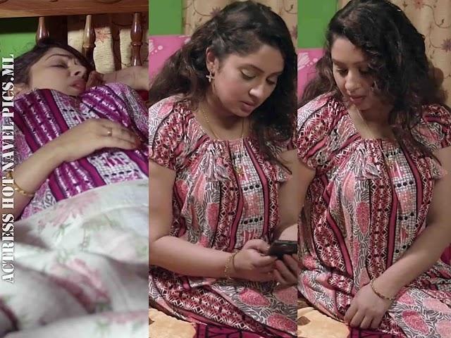 Sreeya Remesh Hot Photos In Nighty