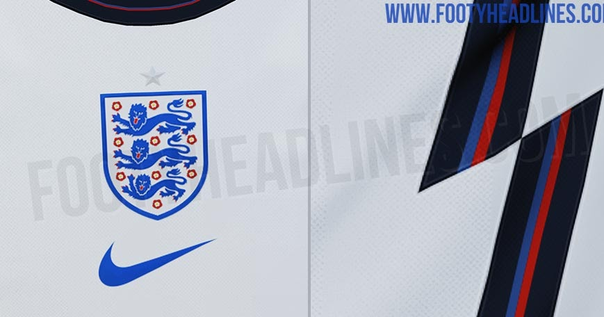 Exclusive Nike England Euro 2020 Home Kit Leaked Footy