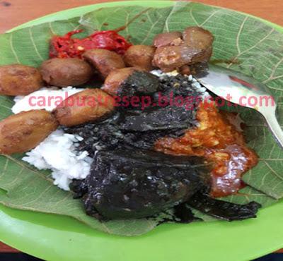 Foto Resep Nasi Jamblang Komplit Khas Cirebon Sederhana Spesial Asli Enak