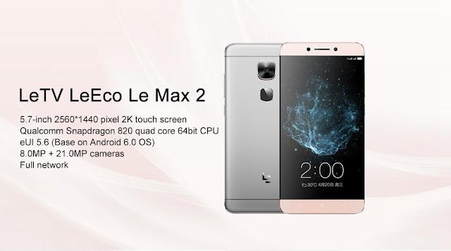 Snapdragon820に5.7インチ2Kディスプレイで365ドル!正真正銘の旗艦機LeEco Le MAX 2の予約開始です!