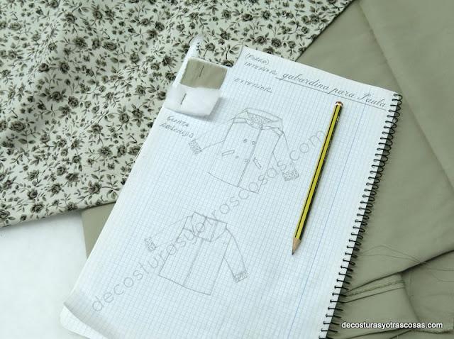 diseño abrigo infantil